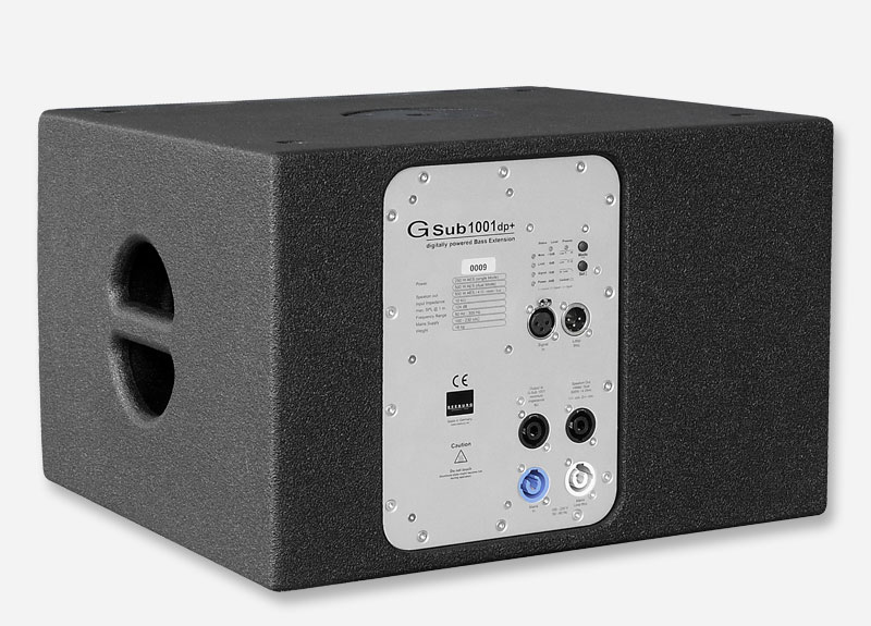 An active dp (digitally powered) version is also available, allowing operation independant of a seperate amplifier and controller.