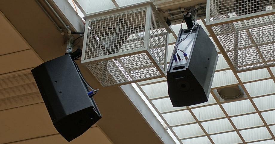 Bild zu Neue Tonanlage für die Kuhberghalle: <br>K 20, X 2